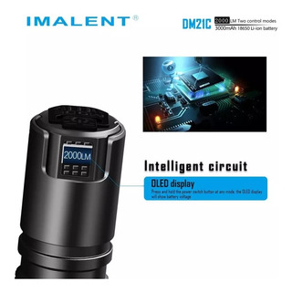 Lanterna Tática Imalent Dm21c 2000 Lúmens Lançamento