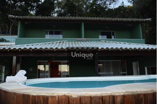 Casa Com 6 Dormitórios À Venda, 450 M² Por R$ 750.000,00 - Manguinhos - Armação Dos Búzios/rj - Ca1028