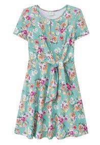 Vestido Lecimar Em Cotton Primavera Verão