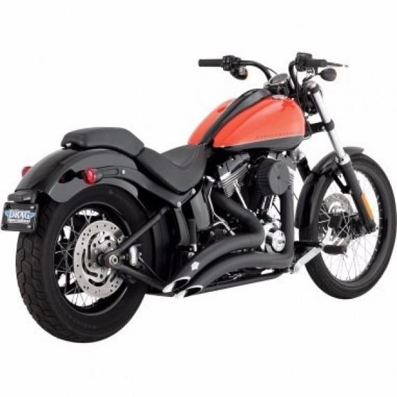Escapamento Vance & Hines Big Radius Harley Softail