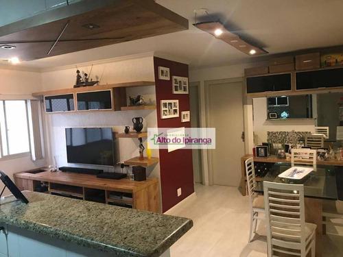Apartamento Com 2 Dormitórios À Venda, 54 M² Por R$ 467.000,00 - Vila Gumercindo - São Paulo/sp - Ap3772