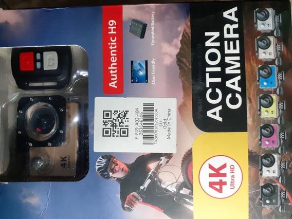 Câmera Action Cam. Authentic H9, 4k Ultra Hd, Wifi