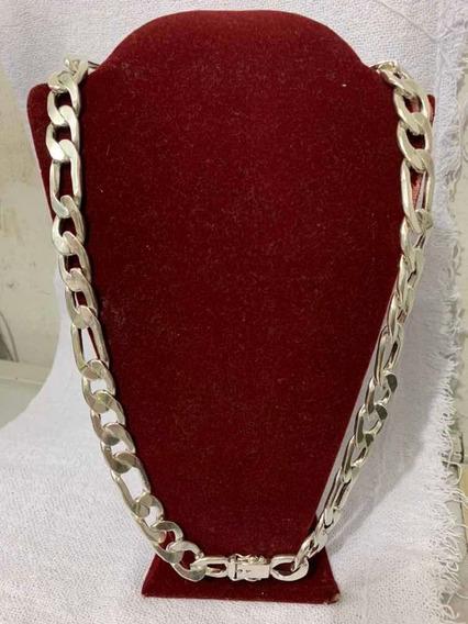 Cordão Prata 950 3x1 Cartier 199gr