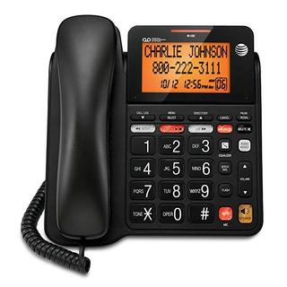 At & T Cd4930 Teléfono Con Cable Con Sistema De Contestadora
