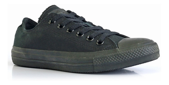 Tênis Converse All Star Monochrome Preto - Way Tenis