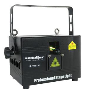 Laser Rgb Real 1w Profesional Light Dmx Animacion Ilda