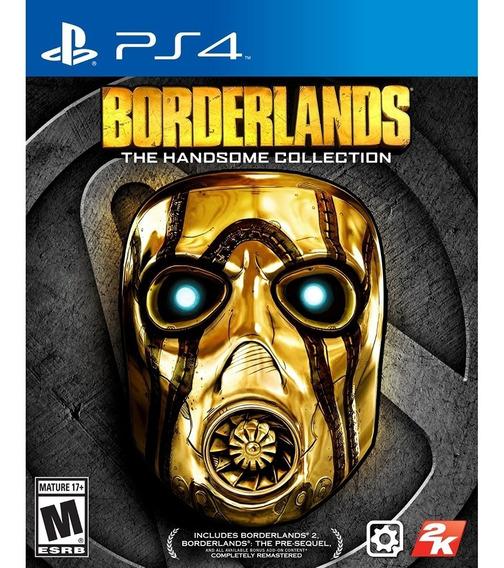 Borderlands Collection Ps4 Pacote 2 Jogos Midia Fisica Novo
