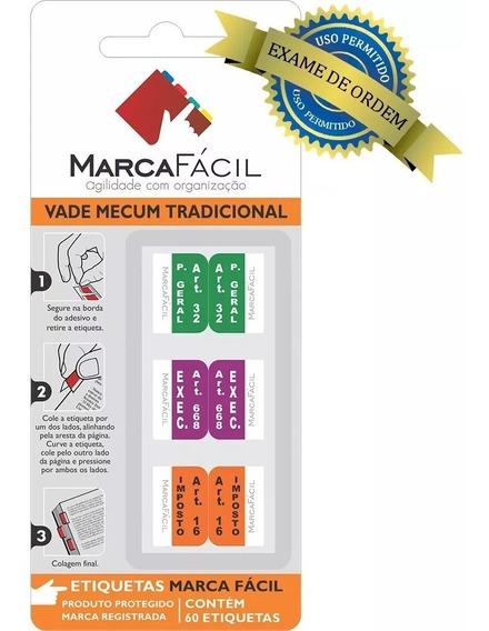 Etiquetas Marca Fácil - Vade Mecum Direito Tradicional