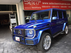 Mercedes Benz G500 2017 Blindada
