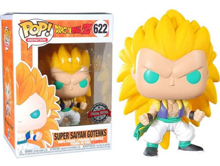 Funko Pop #662 - Super Sayan 3 Gotenks Dragon Ball Exclusivo