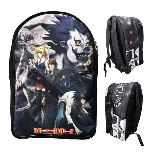 Death Note Mochila Backpack Kira Misa Shinigamis