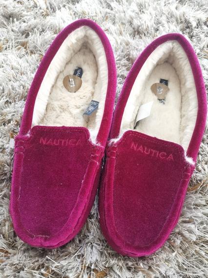 Zapato Afelpado Nautica De Mujer