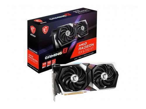 Placa De Video Msi Rx 6700 Xt Gaming X Gddr6 12g Pcie Radeon