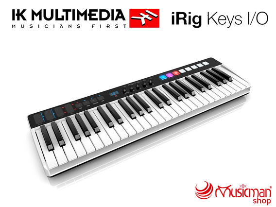 Ik Multimedia Irig Keys I/o 49 Controller/audio Interface