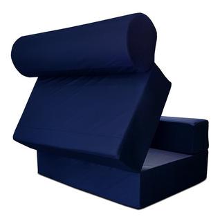 Converticama Color Azul En Material Impermeable