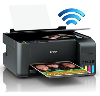 Impresora Multifunción Epson L3150 Sistema Continuo Wifi
