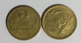 Vendo Moeda Rara De 2 Cruzeiro, Ano 1945