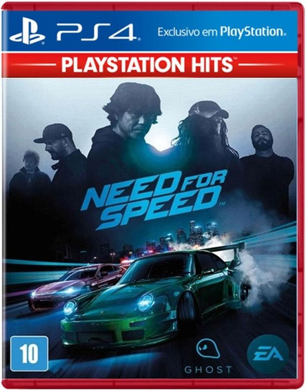 Need For Speed Ps4 Mídia Física Lacrado Pt-br 12x Promoção !