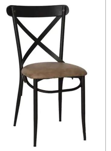 Imagen 1 de 2 de Silla Edrei Tubular De Acero Para  Restaurante O Cafetería