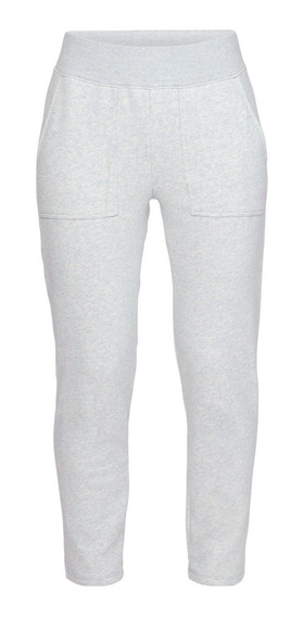 Pantalon Under Armour Rival Fleece Gri Claro De Mujer