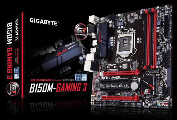 Placa Mãe Lga 1151 Ddr4 B150m-gaming 3 Gigabyte.