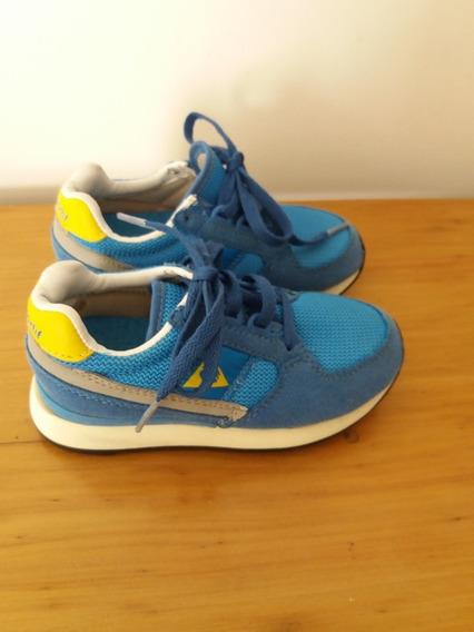 Zapatillas Lecopsportif, Botas adidas,precio C/u Talle 25 .