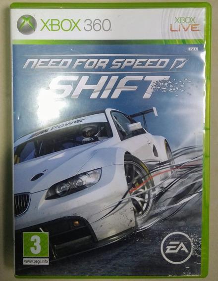 Need For Speed Shift Xbox 360 Mídia Física