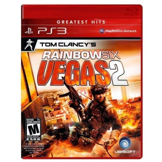Tom Clancys Rainbown Six Vegas 2 - Midia Fisica Lacrado Ps3
