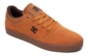 Tenis Dc Shoes Crisis La Wheat, Caramelo, Marrom,skate.