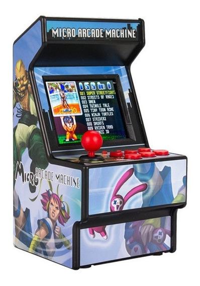 Mini Arcade Handheld Game Player Com Built-in 156 Jogos Pret