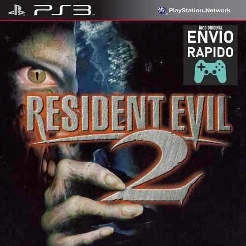 Resident Evil 2 Classico - Jogos Ps3 Original