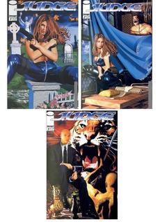 J.u.d.g.e - Serie Completa 3 Núm.- Image Comics