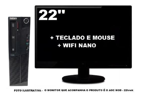 Lenovo Thinkcentre M92 Intel Core I3 8gb 120ssd