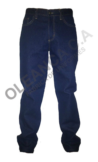 Pantalon Industrial De 3 Costuras De 14.5 Oz