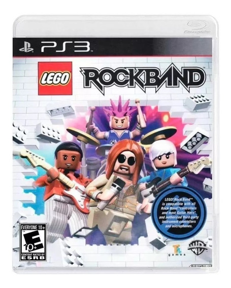 Jogo Lego Rock Band - Ps3 Novo Lacrado Black Label