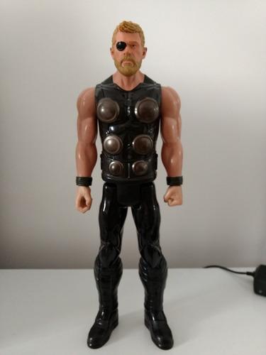 Boneco Thor Action Figure - Hasbro - Usado Leia A Descrição