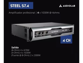 Potencia Digital Audiolab S7.4