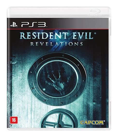 Jogo Resident Evil Revelations - Ps3