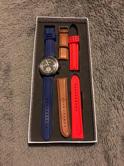 Reloj Express - Incluye 3 Correas De Diferentes Colores ! -