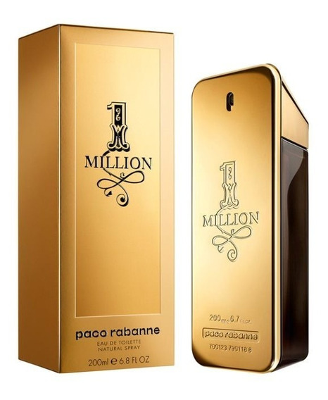 One 1 Million 200ml Masculino | Original + Amostra De Brinde