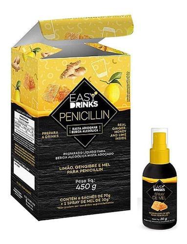 Pré Mix Penicillin Drink 6 Sachês + 1 Spray Mel 450g