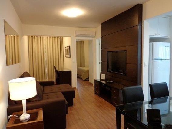 Lindo Apartamento Estilo Flat Para Locação No Coração Do Itaim Bibi - Fl0370