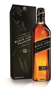 Whisky Johnnie Walker Black Label(1000ml) Litro100% Original