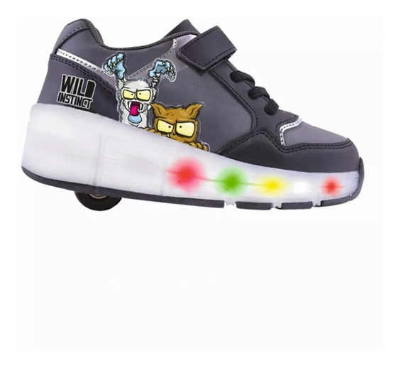 Zapatillas Rueda Led Zombies Infection Footy Zir 773