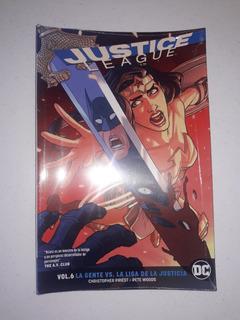 Justice League Volumen 6: La Gente Vs La Liga De La Justicia