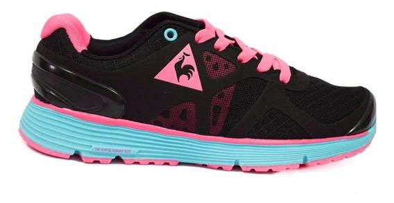 Zapatillas Le Coq Sportif Running Nouveau Mujer Negro Comb.