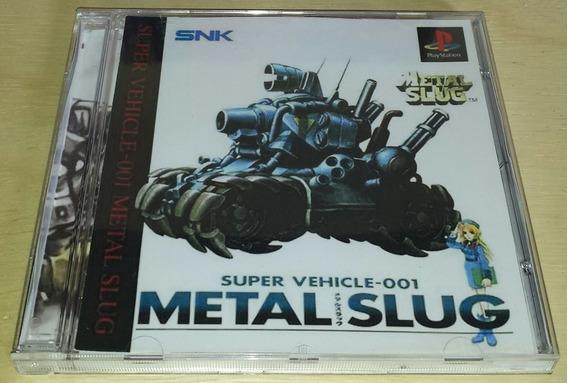 Metal Slug Ps1,ps2 E Ps3