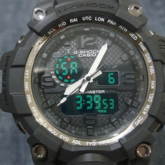 Relógio G-shock Mudmaster Casio Preto Lindo A Prova D