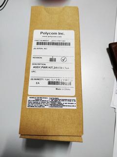 Fonte Polycom Assy, Pwr Kit, 24v/2kv 2215-17877-001