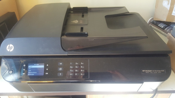 Impressora Multituncional Hp Deskjet 4646 Wifi C/ Cartuchos